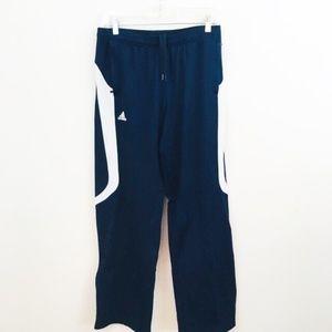 Adidas Climalite Ankle Zip Drawstring Track Pants